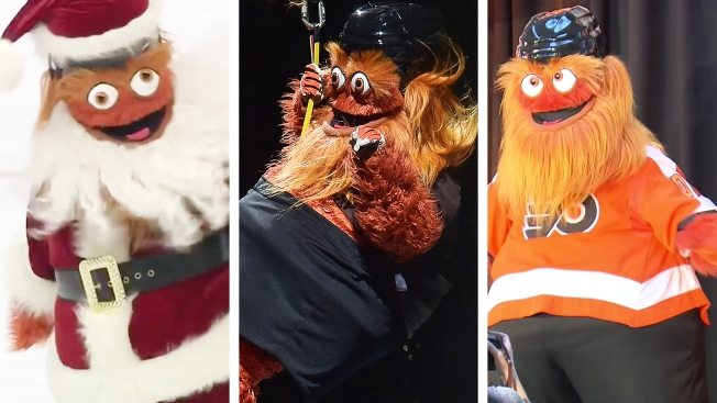 Gritty's Top 10 Moments From 2018