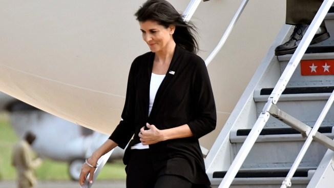 US Ambassador to UN Cuts South Sudan Camp Visit Short