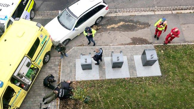 Oslo Police Shoot to Stop Man Driving Stolen Ambulance on Sidewalk