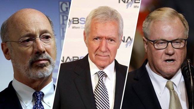 'Jeopardy' Host Alex Trebek at Center of Only Pennsylvania Governer's Debate