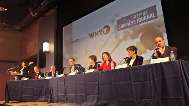 Dems Tough on Corbett, Kind to Each Other at WHYY-Business Journal Forum