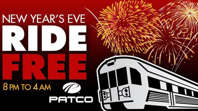 PATCO Offers Free Rides Between New Jersey, Philadelphia for New Year's Eve
