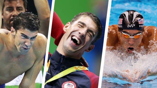 [NATL] The Many Faces of Michael Phelps