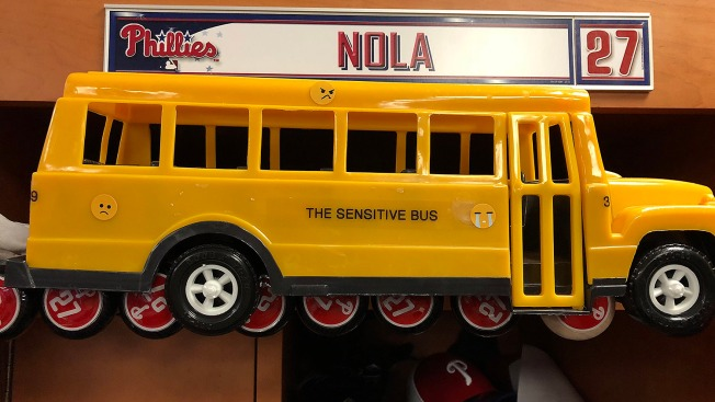 Phillies Pitchers Look to Stay Off the Sensitive Bus
