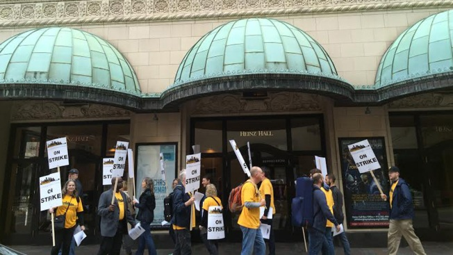 Pittsburgh Symphony Orchestra musicians go on strike