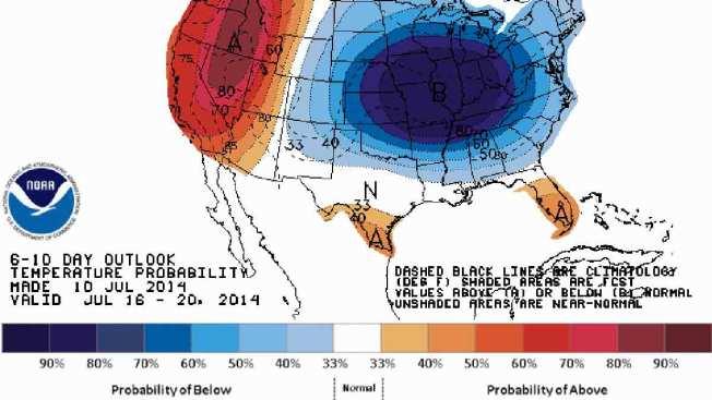 Polar Vortex? Rare Summer Chill Coming to U.S.