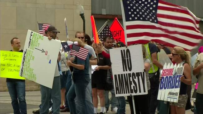 Underpants and Overpasses: Immigration Protest Organizers Include Longtime Obama Critics