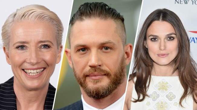Queen's Honors for Emma Thompson, Tom Hardy, Keira Knightley