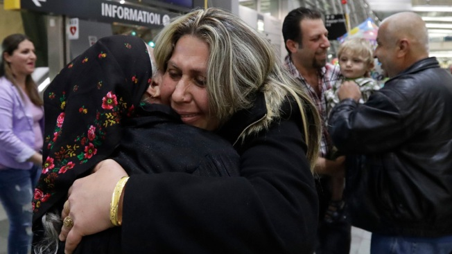 'I Am Lucky': Refugee Family Celebrates Arrival to US