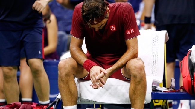 Federer Stunned by 55th-Ranked Millman in US Open 4th Round