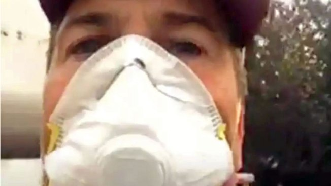 Rob Lowe Thanks Firefighters Battling Thomas Blaze With Home-Cooked Meal