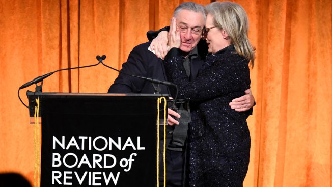 De Niro Slams Trump in Profanity-Laced Tirade While Presenting Award to Streep