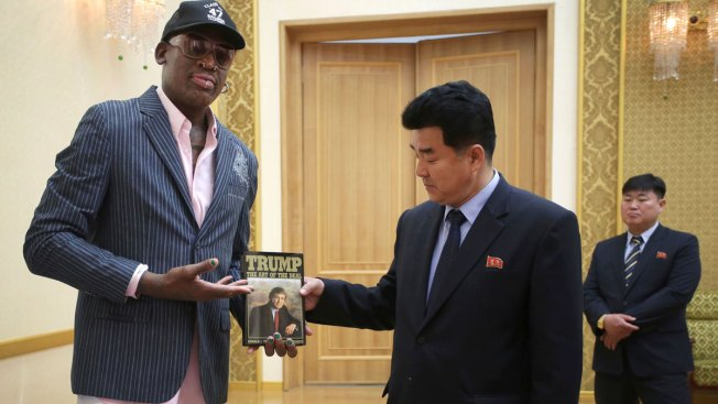 Rodman Gives Kim the Gift of Trump: 'The Art of the Deal'