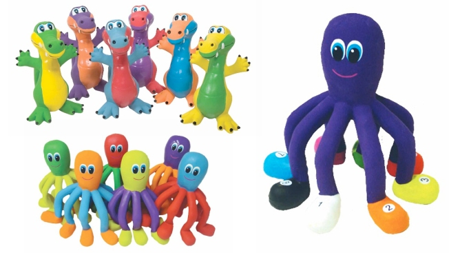 Rubber Critter Toys Recalled for Excessive Lead Paint Levels