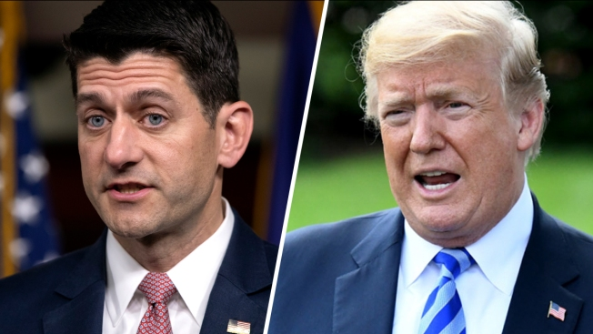 Paul Ryan Contradicts Trump's Claim That FBI Planted a 'Spy' in His Campaign