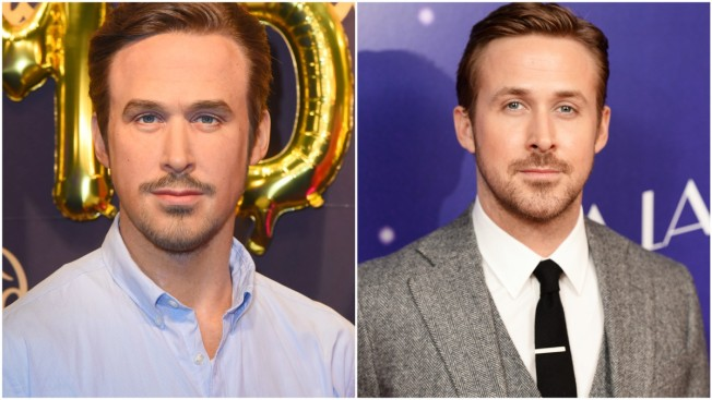 Ryan Gosling's Madame Tussauds Wax Figure is Freaking Everyone Out