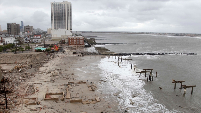 Work Begins on $32.5M Project for Atlantic City Sea Wall, Boardwalk Repairs