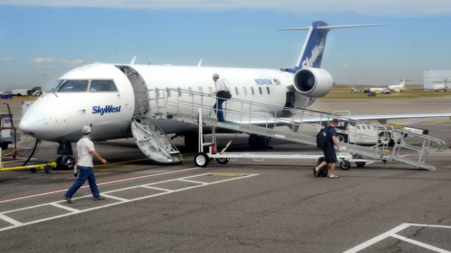 Passenger on Boise-Bound Flight Tries to Open Cabin Door Midair