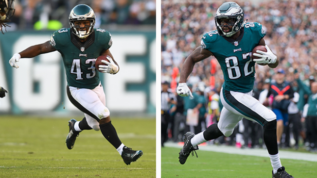 Eagles Stay Or Go - Two Veteran Skill Players