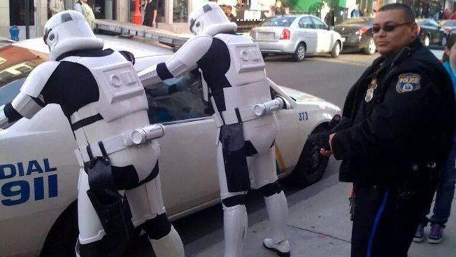 Philly Officers Have Fun on the Job, 'Arrest' Stormtroopers for Trying to Spoil Star Wars Plot
