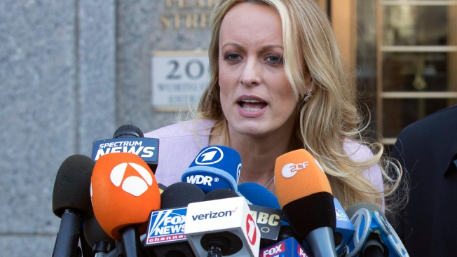 Stormy Daniels Suit: My Old Lawyer Was Trump's 'Puppet'