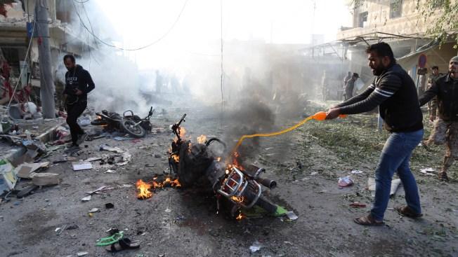 Blast in Syrian Town Held by Turkey-Backed Gunmen Kills 13
