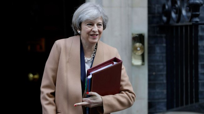 British Prime Minister Calls for Snap General Election in June