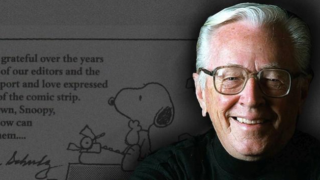 'Peanuts' Turns 65, Schulz Inducted Into Hall of Fame