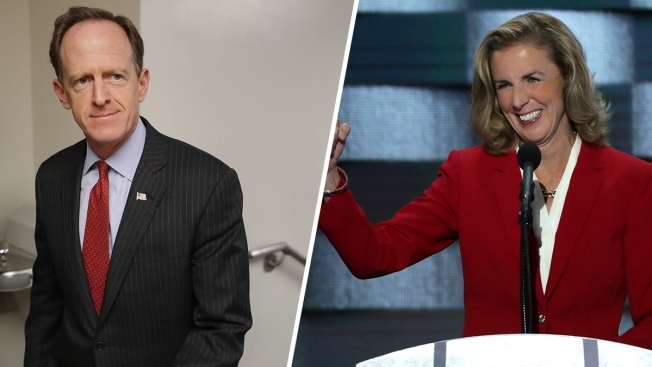 Pat Toomey, Katie McGinty Cross Pennsylvania to Speak to Voters in Critical US Senate Race