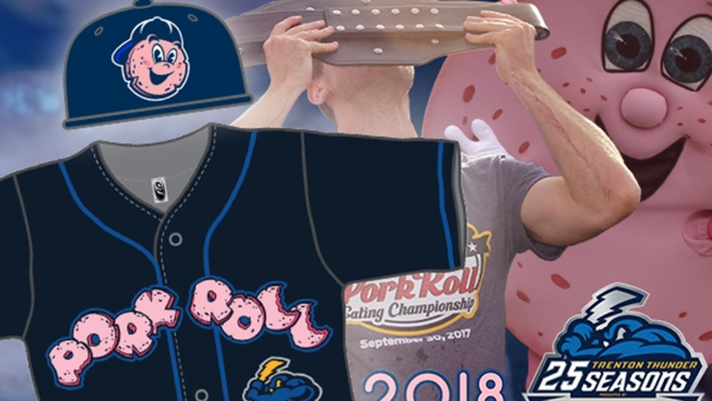 Trenton's Minor League Baseball Team Being Renamed the 'Pork Roll'