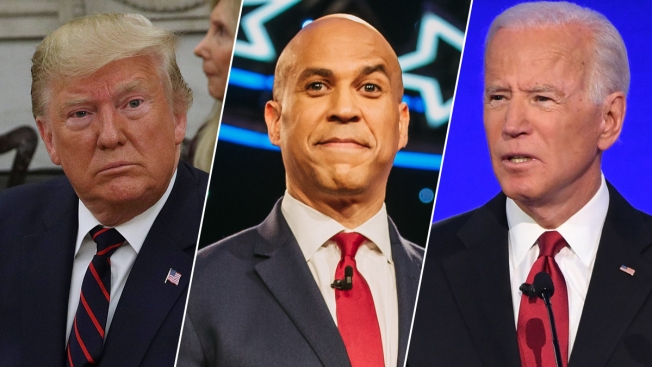 Biden, Booker Rake in Campaign Dough in Their Home States of Pennsylvania, New Jersey and Delaware