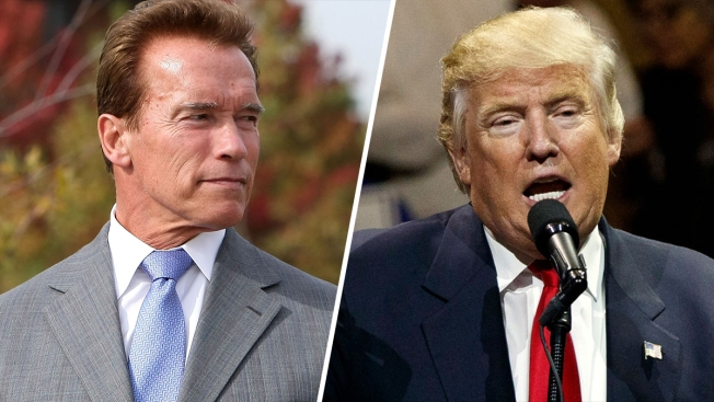 Arnold Schwarzenegger's Theory on Trump: 'He's in Love With Me'
