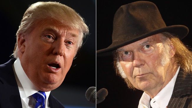 "Neil Young Calls Out Donald Trump for Using ""Rockin' in the Free World"" in Rally"