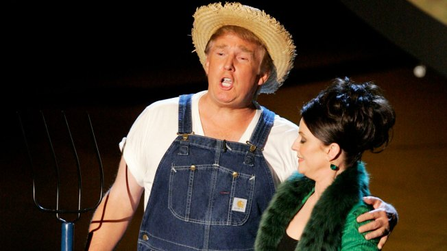 Trump Tweets Video of 2005 'Green Acres' Emmy Award Skit to Tease Farm Bill Signing