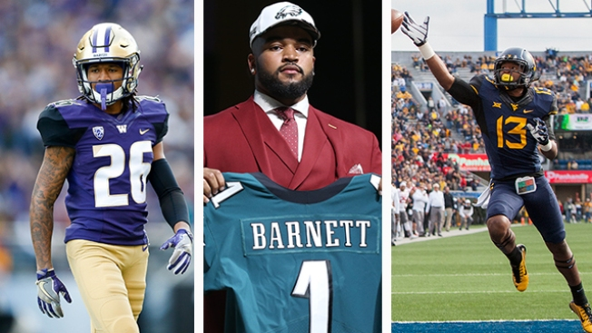 Biggest Questions About Each of Eagles' 8 Draft Picks