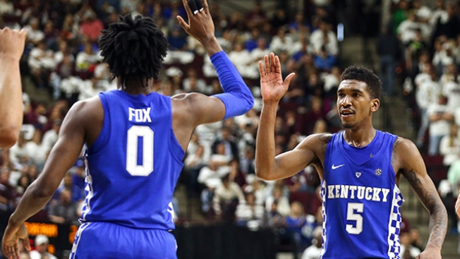 Kentucky Teammate Expects Special Things From De'Aaron Fox, Malik Monk in NBA