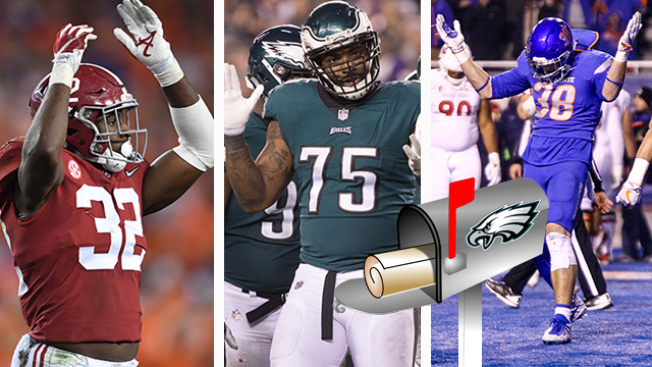 Eagles Mailbag - Thinking About Trades and 1st-round LBs