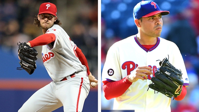 Jeanmar Gomez to DL; Aaron Nola to Make Rehab Start Wednesday