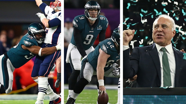 Roob's 10 Observations: Eagles Playing Hurt, Lurie's Anniversary, Foles Stats