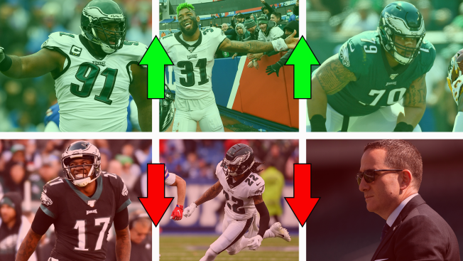 5 Eagles Who Need to Get It Going After the Bye Week