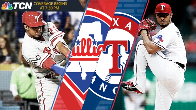 Phillies-Rangers 5 Things: Phils Draw Yu Darvish, Strikeout-prone Offense