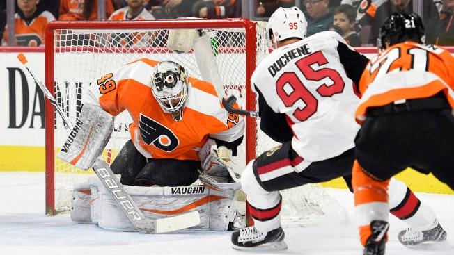 Poor Shootout Thwarts Flyers' Comeback Effort