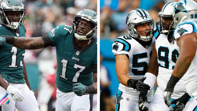Eagles-Panthers Thoughts: Top-10 Offense Meets Top-10 Defense