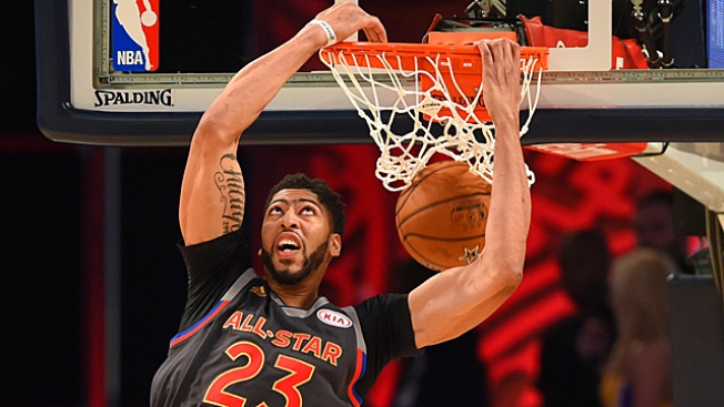 e89f99c5ce2 West Wins NBA All-Star Game  Anthony Davis Earns MVP With Record Performance