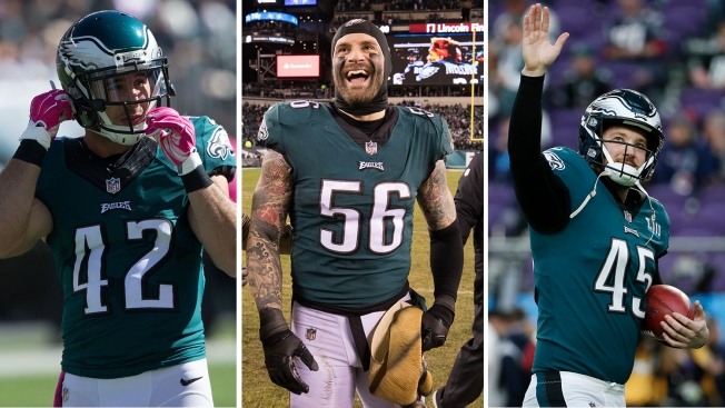 Eagles Stay Or Go - Vocal Leader and Key Special Teamers
