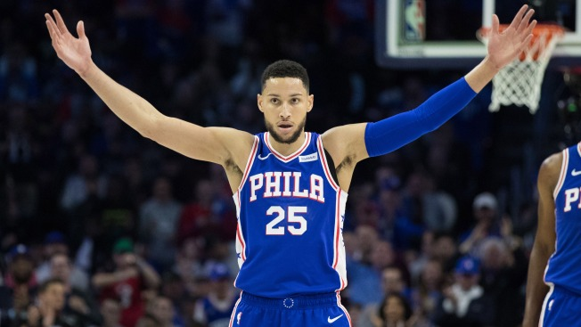 Ben Simmons Turns Saturday's Boos Into Cheers Monday in Sixers' Blowout Win