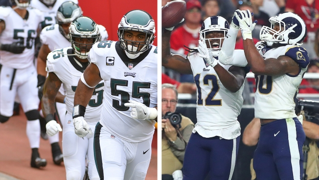 Eagles' D Better Fix Issues Because 'Rams Can Hang 40 and 50 on People'