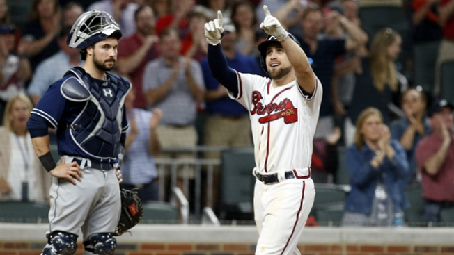 LEADING OFF: Braves open new park, Moreland near double mark