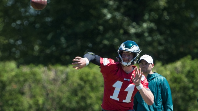 Eagles Minicamp Observations: Wentz Is Up-and-Down