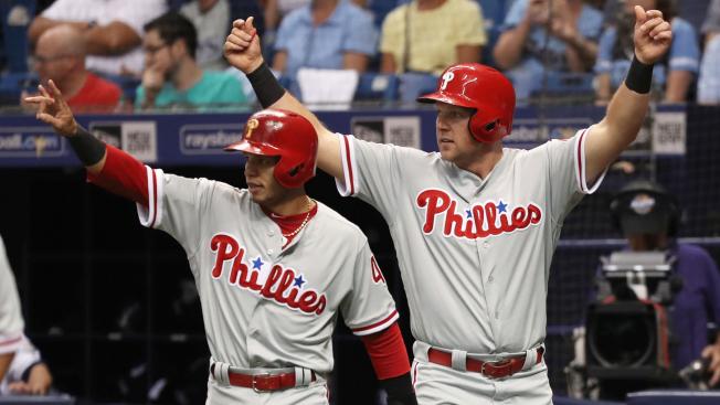Phillies Demolish Rays for Rare AL East Sweep
